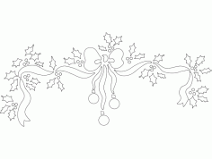 Things Festive Design 62 Free Download DXF File