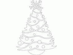 Things Festive Design 72 Free Download DXF File