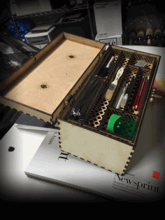 Tool Box for Laser Cutting CDR File