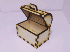 Toy Treasure Chest Laser Cut CDR File