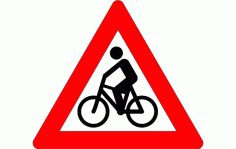 Traffic Signs for Cyclists DXF File