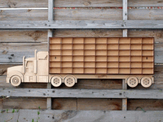 Truck Shelves for Kids CNC Laser Cutting Free CDR File