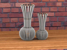 Vase Laser Cut for Room Decor Vector CDR File