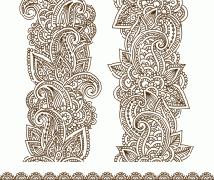 Vector Illustration Mehndi Vector Free CDR Vectors File