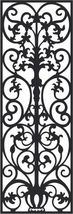 Vectorized fretwork pattern Laser Cut CDR File