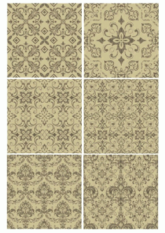 Vintage Background Vectors Set Laser Cut Free CDR File