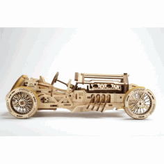 Vintage Car 4 Mm Plans for Laser CNC Plotter CDR File