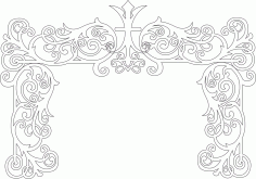 Wedding Decor Laser Cut Free CDR Vectors File