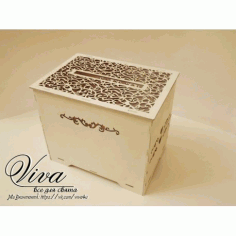 Wedding Favor Box Laser Cut Free Vector CDR File