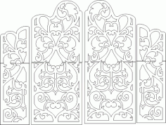 Wedding Screen Design Free CDR Vectors File