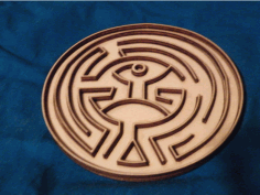 Westworld Maze Free Vector DXF File