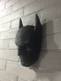 Wooden Batman Face Wall Hanging CDR File