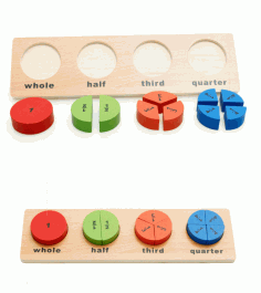 Wooden Educational Toy Preschool Shape Toy For Boys Girls Free Vector CDR File