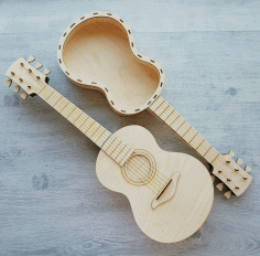 Wooden Guitar Laser Cutting CDR File