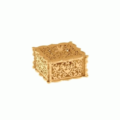 Wooden Jewelry Box Laser Cut CDR File