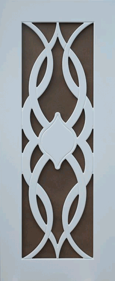 Wooden MDF Door Panel Designs Free Vector DXF File
