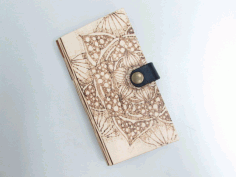 Wooden Phone Cover Laser Cut DXF File