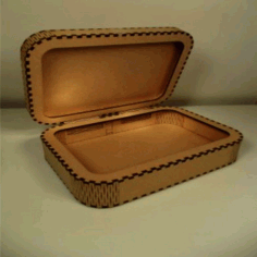 Wooden Storage Box Laser Cut Plan Free CDR File
