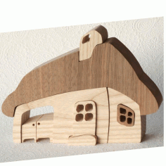 Wooden Toy Ev Free DXF Vectors File