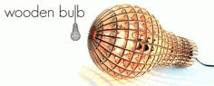 Woodne Light Bulb Laser Cut CDR File