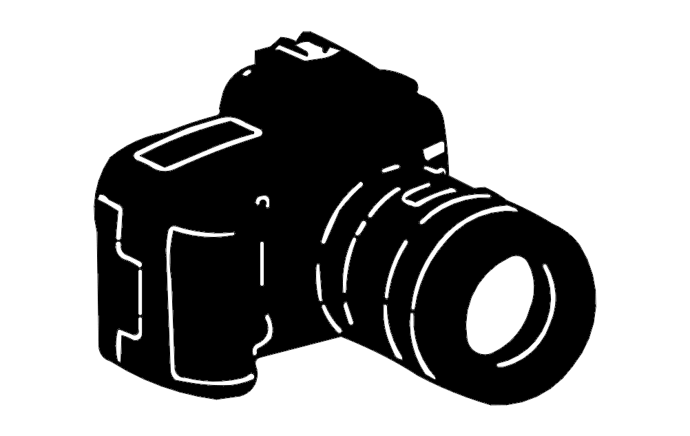 Camera Free DXF Vectors File