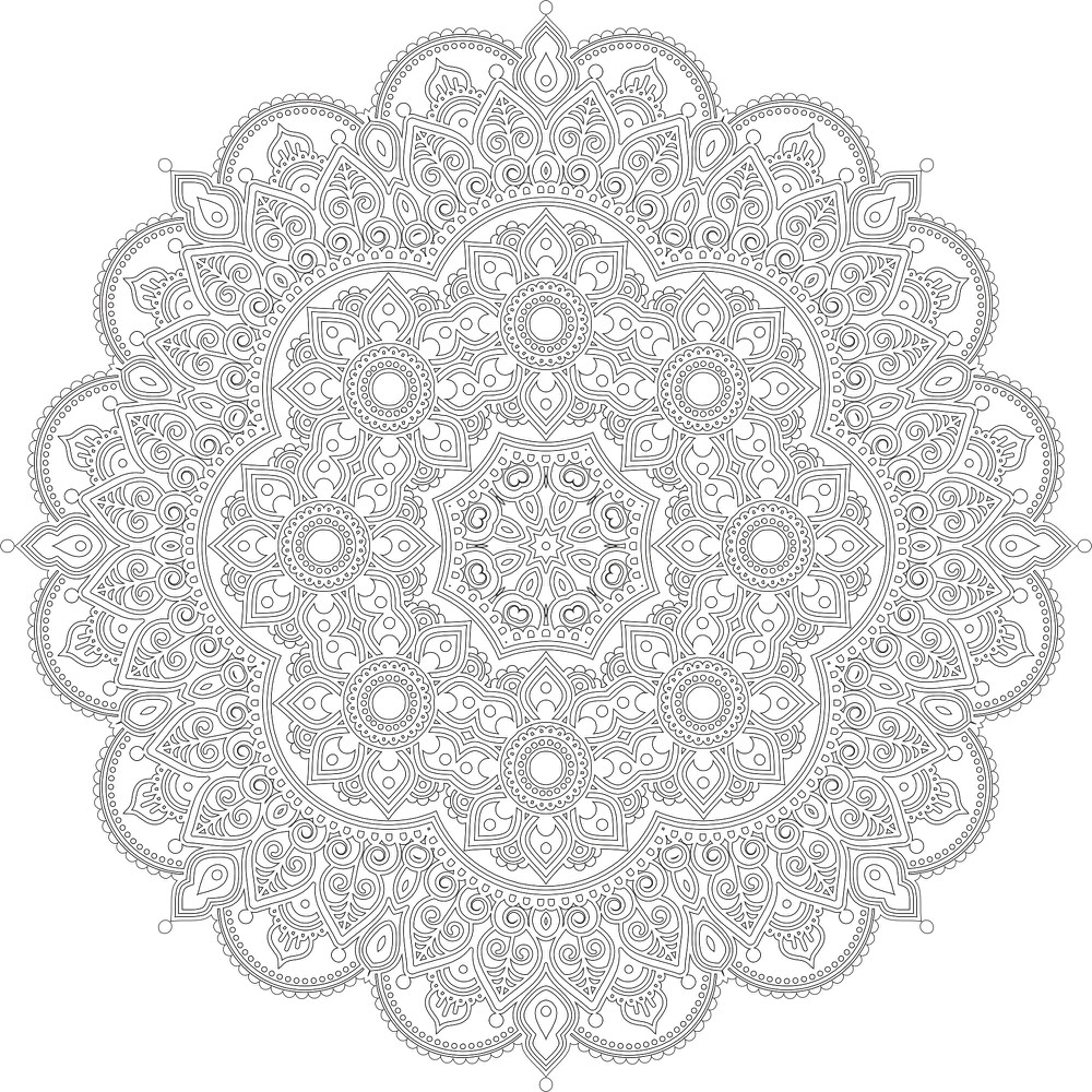 Decor Mandala Design Ornament CDR File
