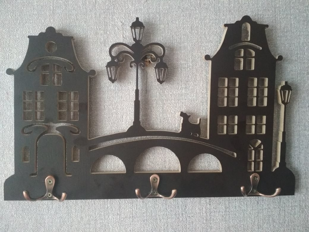 Housekeeper Hanger Laser Cut Plans Free CDR File