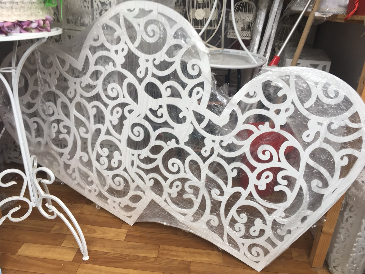 Laser Cut Heart Decor 3D Puzzle CDR File