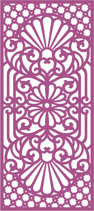 Laser Cut Jali Design Free Vector CDR File